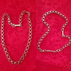 Calvin Klein chain belt